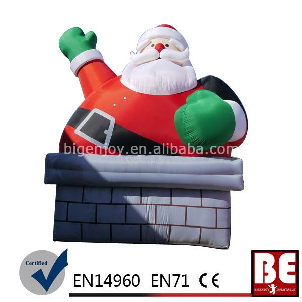 Huge Inflatable Santa Claus Christmas Product