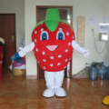 Hola strawberry mascot costume/fruit mascot costume for sale