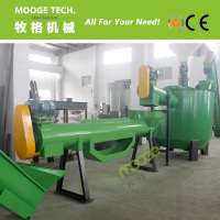 Waste Plastic PP PE Film Washing & Recycling Machine