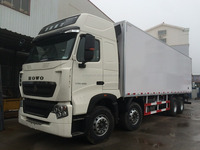 Brand new Euro 3 Emission standard 8*4 refrigerator truck/freeze truck for selling