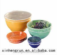 High quality disposable food grade PE plastic elastic bowl cover