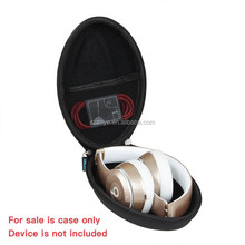 Hard EVA Travel Case for Beats Solo2 / Solo3 Wired On-Ear Headphone Color: Black