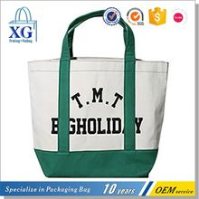 New products trendy style exquisite durable canvas shopping bag