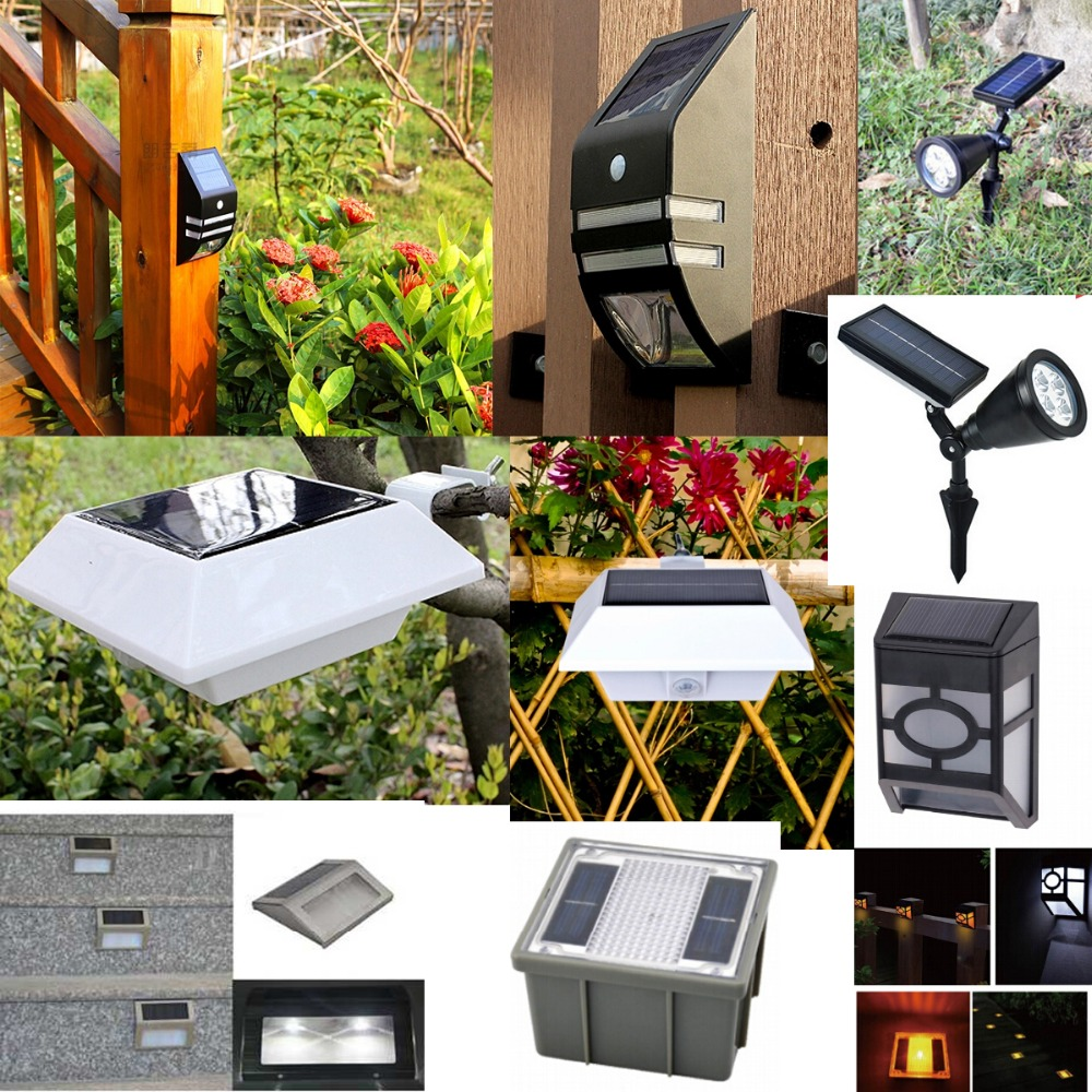 Hotest Sales! PIR Motionman outdoor wall solar led lights for camping