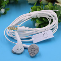 factory supply genuine radio earpiece for Samsung invisible earpiece white with mic EHS61ASFBE original