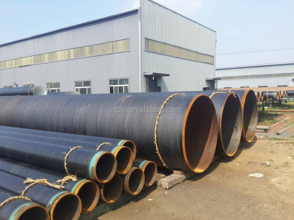 a manufacturer insulation pipe & anti-corrosion 3PE ERW coated api5l lsaw steel pipes/tubes x42 x52 x60 x70 for water oil