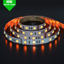 Waterproof flexible led strip 3527 <strong>RGB</strong> 120 leds/m indoor outdoor flexible led strip RGBW