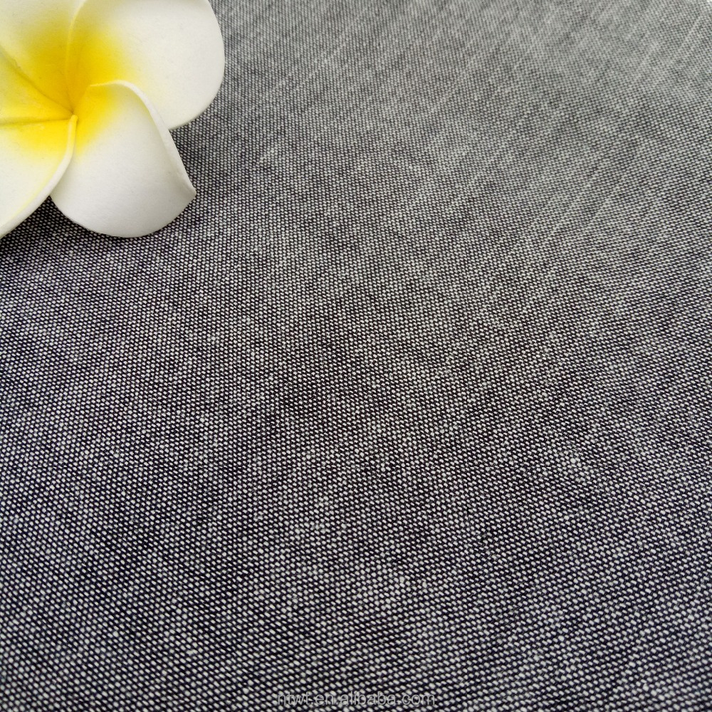Wholesale Yarn Dyed 100% Cotton Chambray Fabric