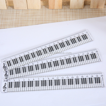20cm Keyboard Shape Promotional Scale Height Chart Ruler For Kid