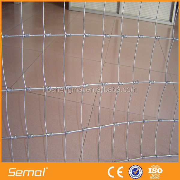 hot sale best price galvanized steel deer fence net
