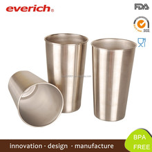 Top quality 16oz Metal Drinking Cup, Stainless Steel Beer Cup