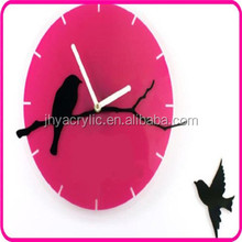 Digital ajanta cuckoo wall clock with bird come out with led light