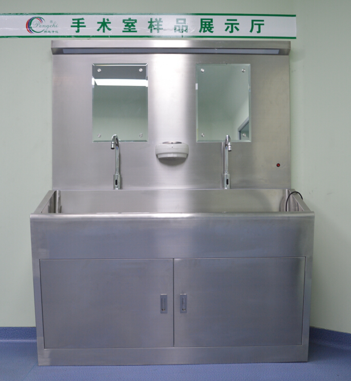 Best selling surgical scrub sink/knee operated hand washing sink