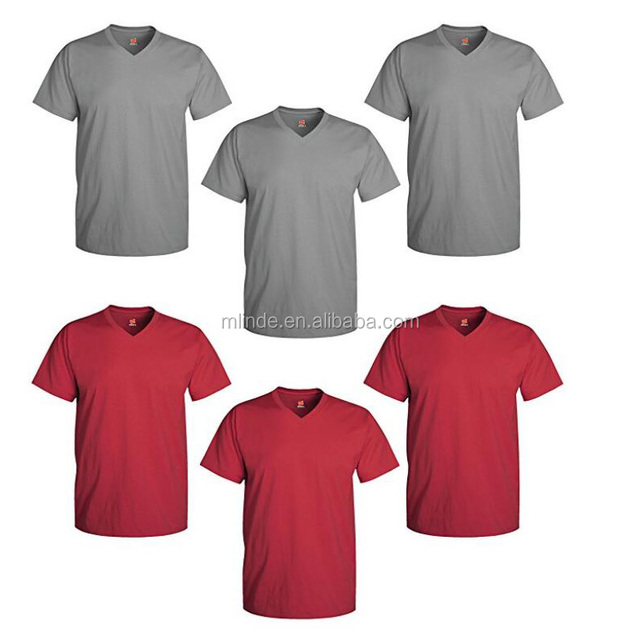 wholesale short sleeve fitness comfort colors t-shirts china 100% cotton blank men couple V neck longline t shirts in bulk