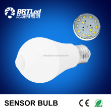 9W human body induction bulb PIR Motion Sensor Lamp 9w E26 E27 B22 LED Bulb R80 Auto Smart Led PIR Infrared Body Lamp light