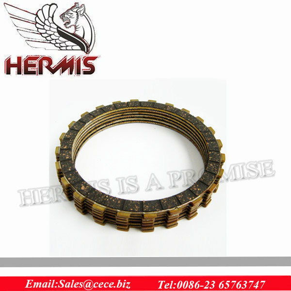 OEM high quality motorcycle clutch disc for kawasaki z750