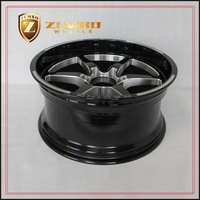 ZUMBO S0058 Black Mill Alloy Wheel Rims