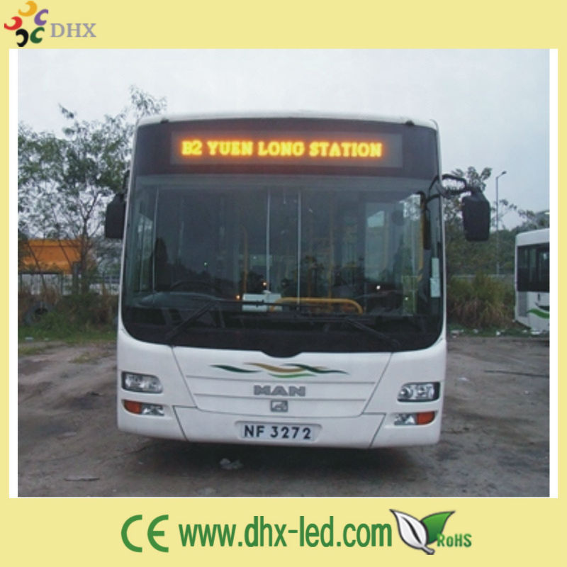 P7.62 good quality bus display screen china led screen
