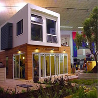 Free design container show room/cafe shop/house/home for sale