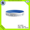 Football team gifts sports printed silicone bracelet
