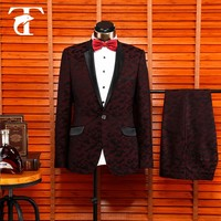 wine and black custom made grey designer evening pant suits