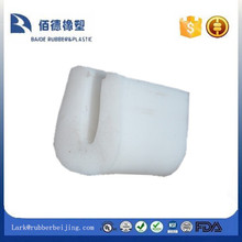 silicone U shape white rubber extruded products