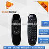 Hot sale 2.4G mini keyboard and mini mouse wireless RF remote control for android TV box