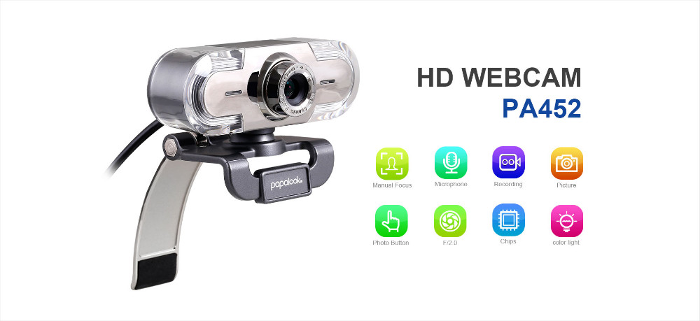2016 china HD Webcam 16 Mega Pixel With MIC&Lights For Computer,Laptop