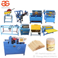 Professional Machine To Make Toothpicks Bamboo Toothpick Production Line