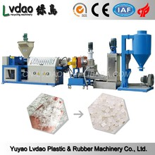 Superior Quality Dry PP/PE Pelletizing 150-200kg/h Waste Plastic Recycling Machine