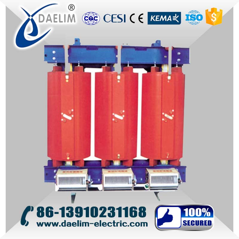 11kv 1000kva 60hz Three Phase Oil Immersed Dry Type Transform