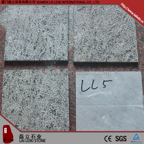 Long lasting honed crushed limestone