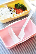 Plastic food container fresh preserving box for food storage with lock