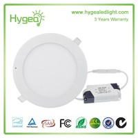 Design Special Recessed led panel light 6w 12w 18w 24w round high quality ultra thin led panel light hs code