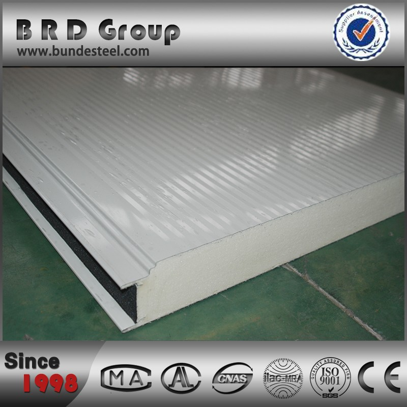 pur panel pu stainless steel sandwich panel