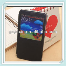 Wholesale alibaba wallet leather credit card slot cover for samsung galaxy note3
