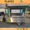 Wholesale china stainless steel Electric tricycle mobile food carts for sale
