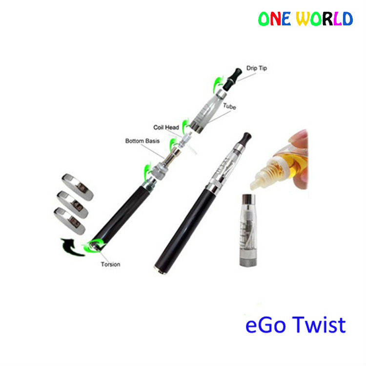 Best selling for 2013 3V-6V variable voltage ego c twist ego-v vv battery adjust f unction