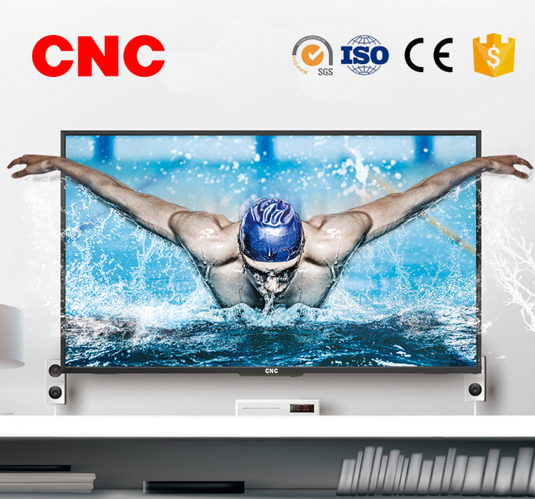 CNC Best Leading Factory Promotion 65 inch 3840x2160P UHD LCD LED Smart TV Televisions