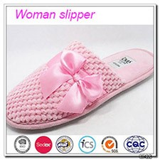 Promotional gift lady slipper bedroom slippers singapore