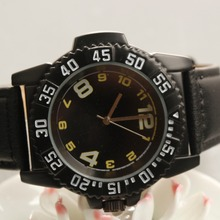 2017 new sports men's black watches relojes de mujer wristwatch