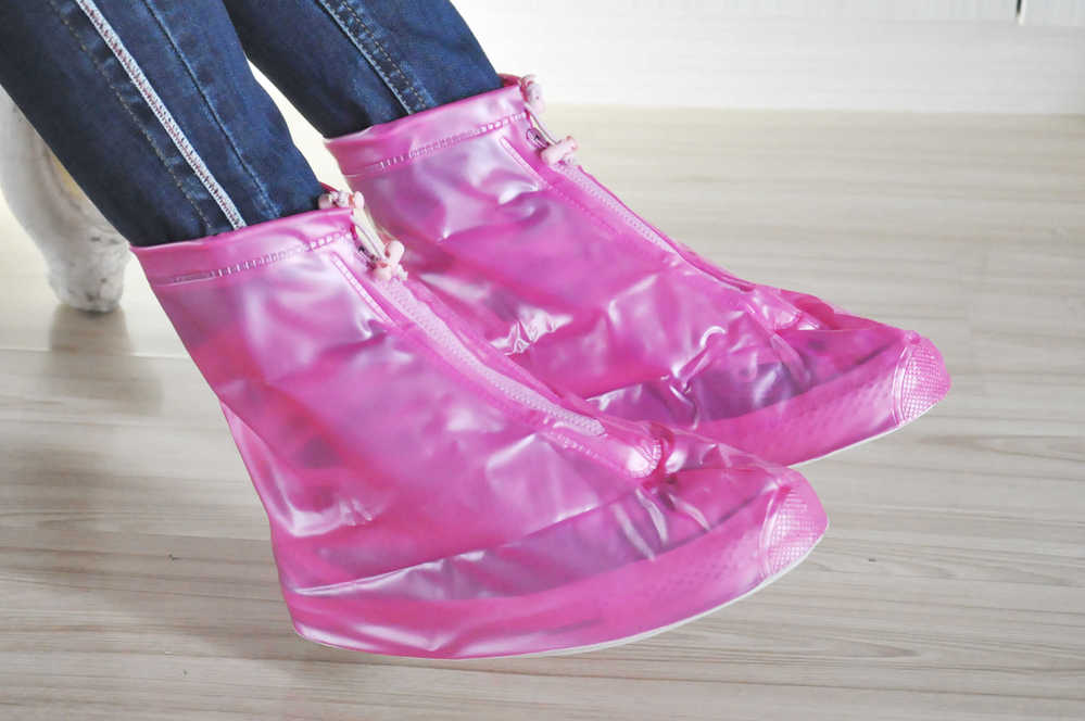 Outdoor custom colorful waterproof shoe cover