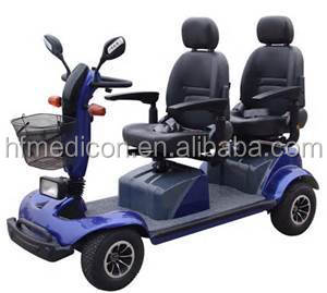 2015 Two seats new design mobility scooter