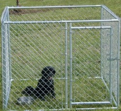 Hot sale cheap Metal Galvanized chain link dog kennel , Large Welded Dog Kennel Runs