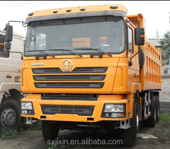 336hp SHACMAN F2000 6x4 Dump Trucks