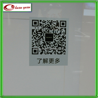 Static cling window stickers banners of uv printing decal