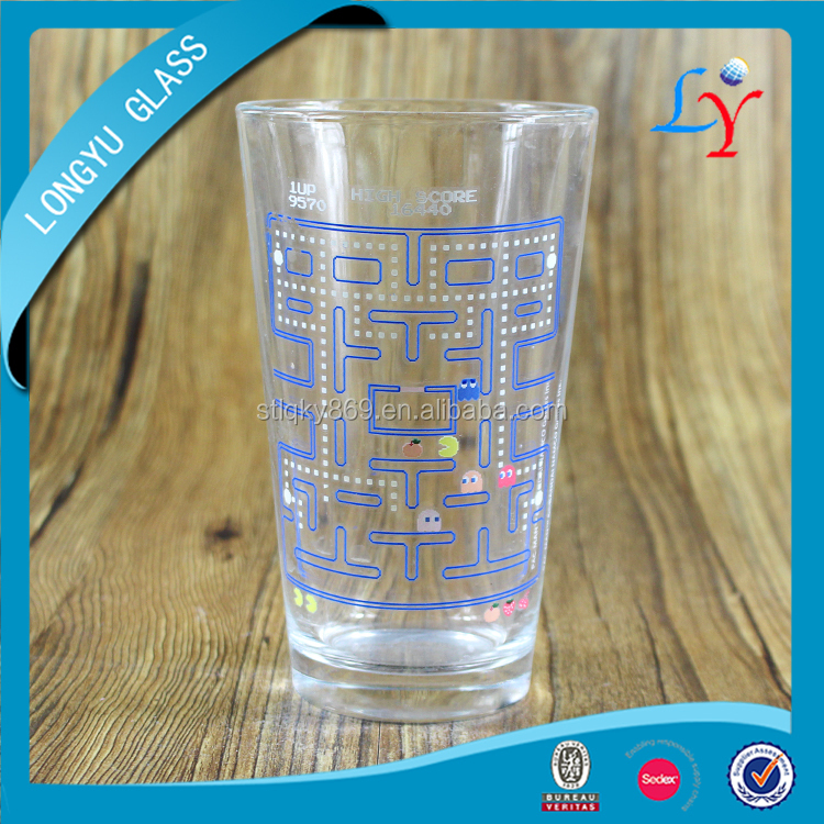 temperature color change cup 16oz cold color changing beer glass