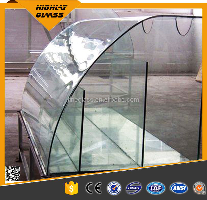 3-19mm Glass Panel/tempered glass/bent/curved glass plate for selling