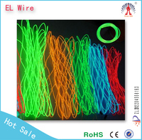 decorative el flashing wire/decorative floral wire/suspended el wire lighting