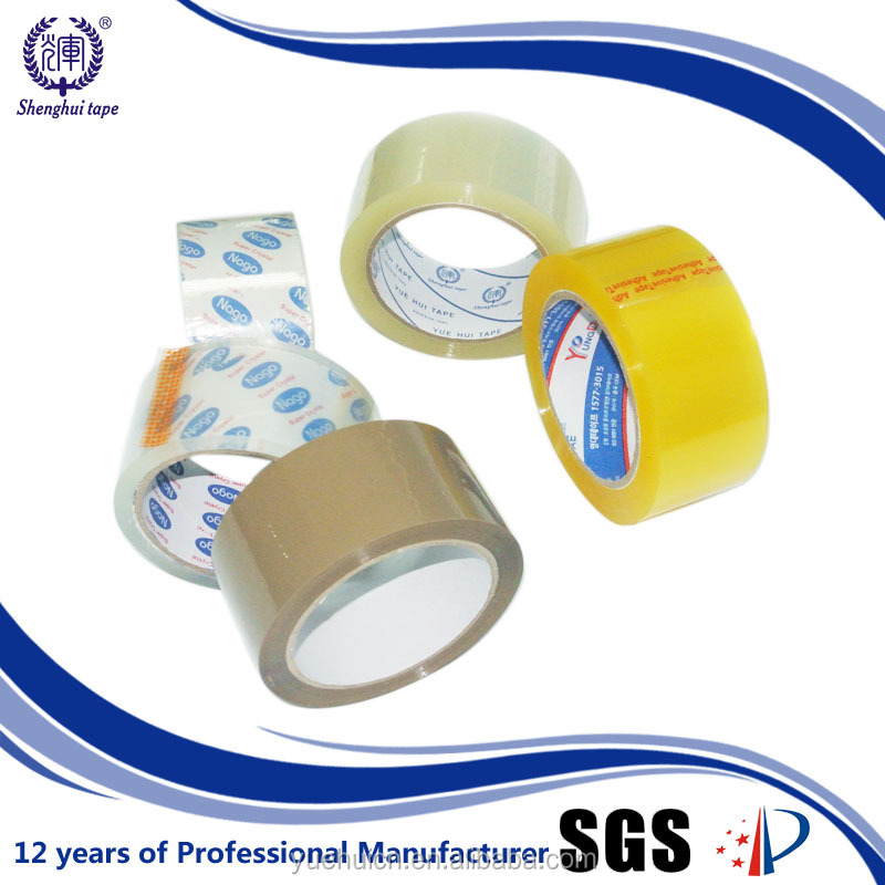 Customized Colored BOPP Bag Sealing Tape with Best Selling in Europe